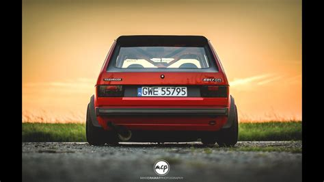 MikeCrawatPhotography: VW Golf Mk1 16V Preview - YouTube