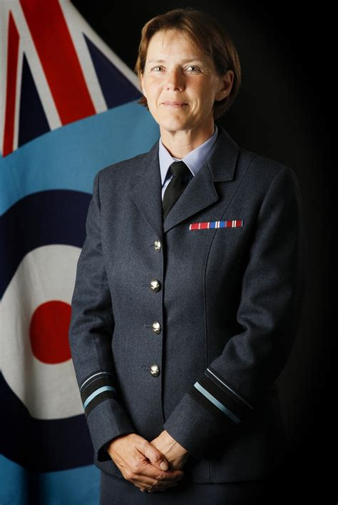 RAF Officer, Elaine West, Smashes Glass Ceiling With First