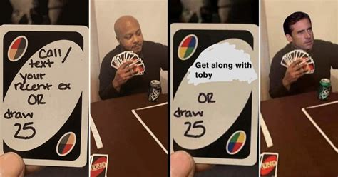 Date Someone Whose Name Starts With A J Or Draw 25 (Uno Memes)
