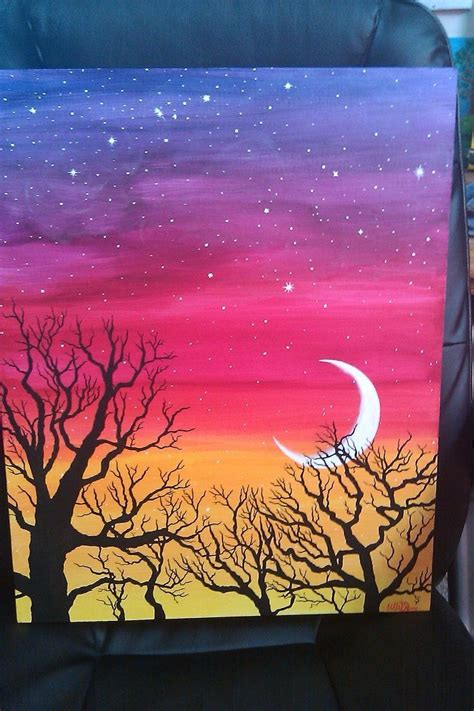 Image result for easy acrylic painting ideas for beginners