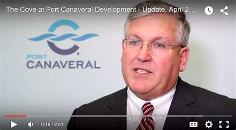 VIDEO: Port Canaveral CEO John Walsh Provides Update On