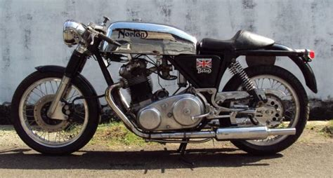 1969 Norton Commando Cafe Racer Classic Motorcycle Pictures