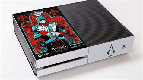 Xbox One With Assassin's Creed Unity Design From Walking