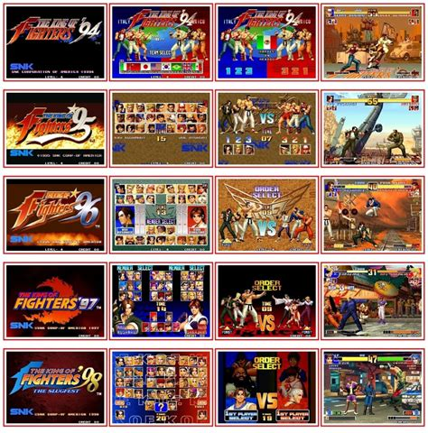 The King of Fighters Portable 94-98 - Chapter of Orochi