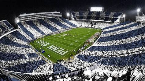 Beaver Stadium Will Be Striped Out For Penn State's Game