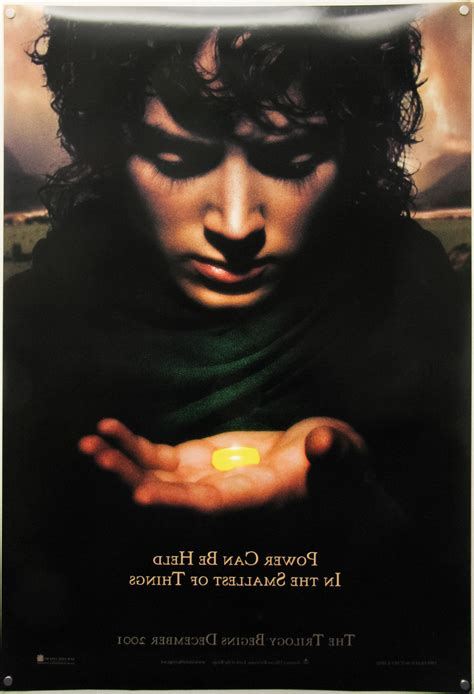 The Lord Of The Rings Trilogy / one sheet / teaser / Frodo