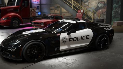 Cop corvette by AR4I   Need for Speed Payback   NFSCars