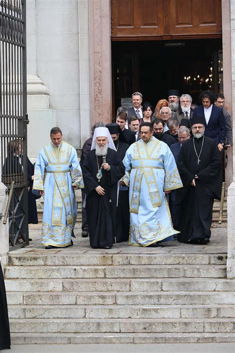 Serbian Patriarch celebrated his Patron feast-day – St