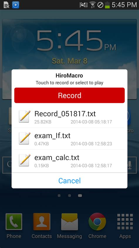 HiroMacro Auto-Touch Macro » Apk Thing - Android Apps Free