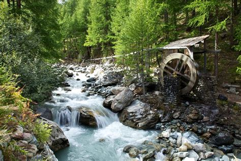 Old Water Mill, Saas-Fee | Flickr - Photo Sharing!