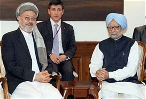 Afghanistan Vice-President meets Prime Minister Manmohan Singh