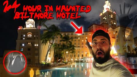 A GHOST IN THE HAUNTED BILTMORE HOTEL // 24 HOUR OVERNIGHT
