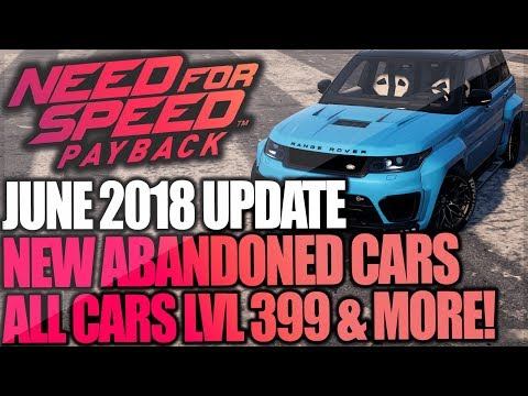 Need for Speed Payback - Customisations Guide - Need for