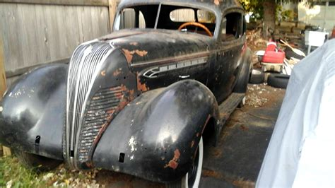 Solid Potential: 1937 Terraplane Coupe