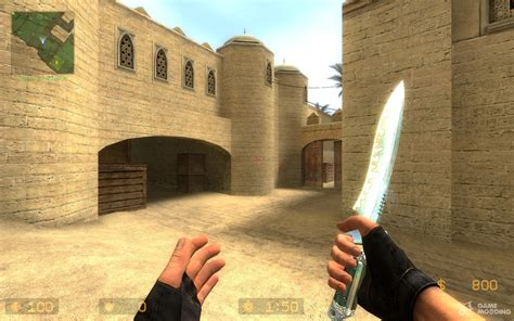 peepin tom's animated knife for Counter-Strike Source