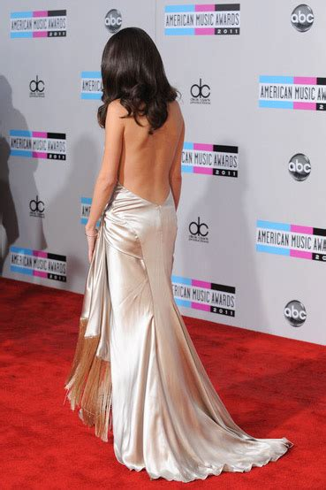 Selena Gomez 2011 American Music Awards Prom Dress Red