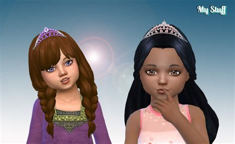 Sparkling Tiara for Toddlers at My Stuff » Sims 4 Updates