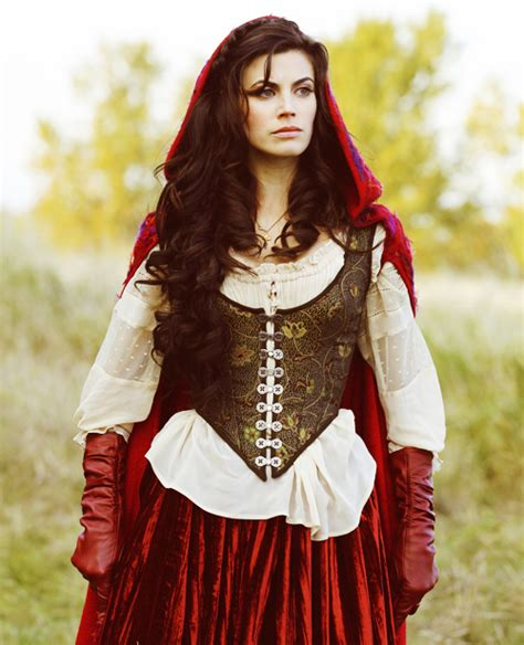 ONCE UPON A TIME: Meghan Ory Interview (2012)   The TV