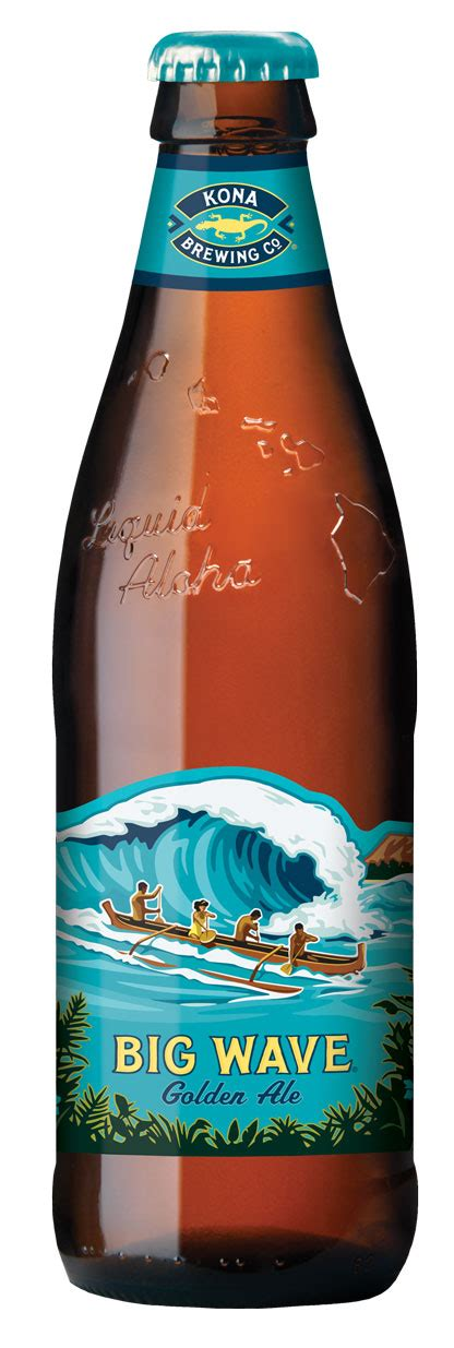 Kona Big Wave Golden Ale - Brewery International