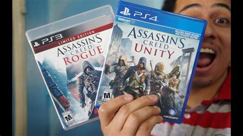 Assassin Creed Unity & Assassin Creed Rogue Unboxing! [HD