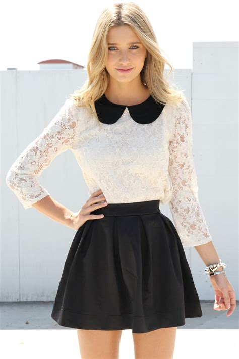 40 Pretty Ideas How To Style A Leather Skirt » EcstasyCoffee