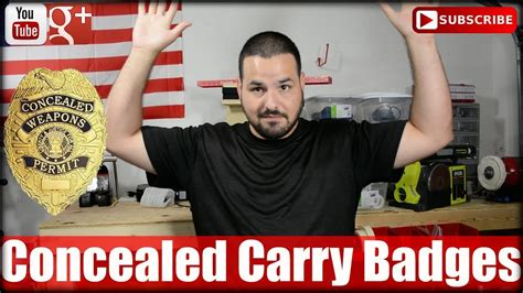 Concealed Carry Badges: 3 Reasons Why NOT! - YouTube