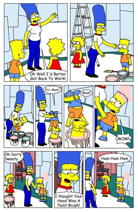 Mike L's Examples of Work: Simpson Fan Comic Act 2
