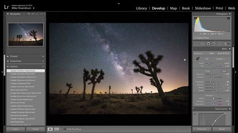 How to Edit the Milky Way and Night Sky Photography Using