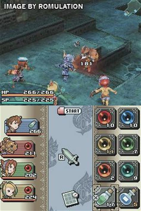 Final Fantasy Crystal Chronicles - Ring of Fates (USA) NDS
